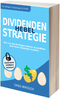 Buch Cover Dividenden Hebel Strategie